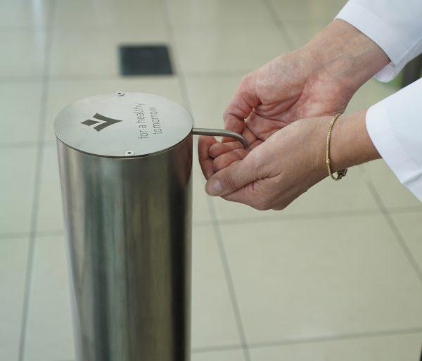 Dispenser dezinfectant