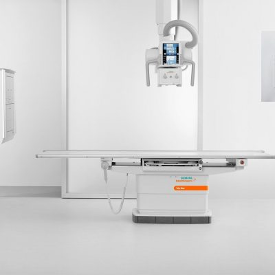 Fixed digital radiography systems