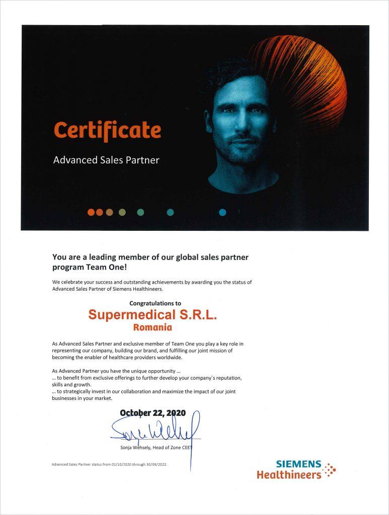 Supermedical, partener de primă importanţă în rețeaua globală a Siemens Healthineers